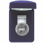 Grand Old Party Republican Steel Money Clip with Pewter Accent