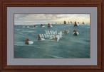 Heading Off Shore Canvasbacks Framed Limited Edition Art Print