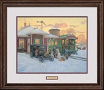 Home for Christmas Limited Edition Framed Art Print Wall Art