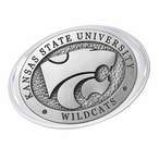 Kansas State University Wildcats Pewter Accent Paperweight