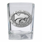 Kansas State University Wildcats Pewter Accent Shot Glasses, Set of 4
