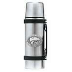 Kansas State Wildcats Pewter Accent Stainless Steel Thermos