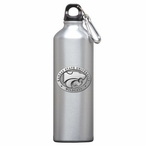 Kansas State Wildcats Pewter Accent Stainless Steel Water Bottle