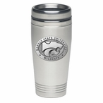 Kansas State Wildcats Stainless Steel Travel Mug with Pewter Accent