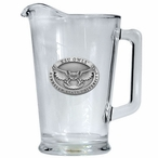 Kennesaw State Owls Glass Pitcher with Pewter Accent