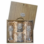 Kennesaw State Owls Pewter Accent Beer Box Set