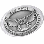 Kennesaw State Owls Pewter Accent Paperweight