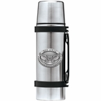 Kennesaw State Owls Pewter Accent Stainless Steel Thermos