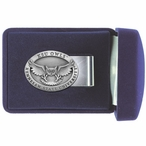 Kennesaw State Owls Pewter Accent Steel Money Clip