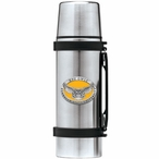 Kennesaw State Owls Yellow Pewter Accent Stainless Steel Thermos