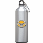 Kennesaw State Owls Yellow Pewter Accent Stainless Steel Water Bottle