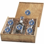 Kentucky Wildcats Blue Pewter Accent Capitol Decanter Box Set