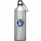 Kentucky Wildcats Blue Pewter Accent Stainless Steel Water Bottle