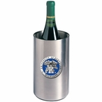 Kentucky Wildcats Blue Pewter Stainless Steel Wine Bottle Chiller