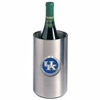 Kentucky Wildcats Logo Blue Pewter Stainless Steel Wine Bottle Chiller
