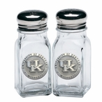 Kentucky Wildcats Logo Pewter Accent Salt & Pepper Shakers