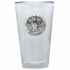 Kentucky Wildcats Pewter Accent Pint Beer Glasses, Set of 2