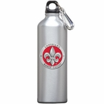 Louisiana at Lafayette Red Pewter Accent Stainless Steel Water Bottle