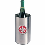 Louisiana at Lafayette Red Pewter Stainless Steel Wine Bottle Chiller