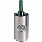 Louisiana State Tigers Pewter Stainless Steel Wine Bottle Chiller