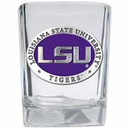 Louisiana State Tigers Purple Pewter Accent Shot Glasses, Set of 4
