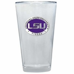 Louisiana State Tigers Purple Pewter Pint Beer Glasses, Set of 2