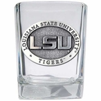 Louisiana State University Tigers Pewter Accent Shot Glasses, Set of 4