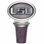 Louisiana State University Tigers Pewter Wine Bottle Stopper