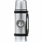 Louisville Cardinals Pewter Accent Stainless Steel Thermos