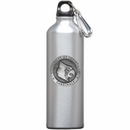 Louisville Cardinals Pewter Accent Stainless Steel Water Bottle