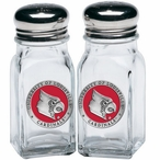 Louisville Cardinals Red Pewter Accent Salt & Pepper Shakers