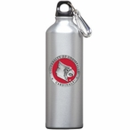 Louisville Cardinals Red Pewter Accent Stainless Steel Water Bottle
