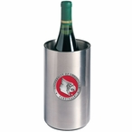 Louisville Cardinals Red Pewter Stainless Steel Wine Bottle Chiller