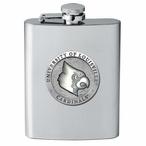 Louisville Cardinals Stainless Steel Flask with Pewter Accent