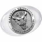 Marshall University Thundering Herd Pewter Accent Paperweight