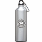 Maryland Terrapins Pewter Accent Stainless Steel Water Bottle