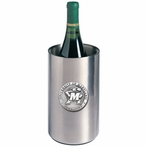 Maryland Terrapins Pewter Stainless Steel Wine Bottle Cooler Chiller