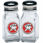 Maryland Terrapins Red Pewter Accent Salt & Pepper Shakers