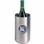 Memphis Tigers Blue Pewter Stainless Steel Wine Bottle Cooler Chiller