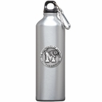 Memphis Tigers Pewter Accent Stainless Steel Water Bottle