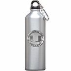 Miami Hurricanes Pewter Accent Stainless Steel Water Bottle