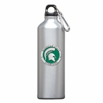 Michigan State Spartans Green Pewter Stainless Steel Water Bottle