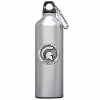 Michigan State Spartans Pewter Accent Stainless Steel Water Bottle