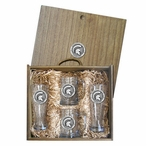 Michigan State University Spartans Pewter Accent Beer Box Set