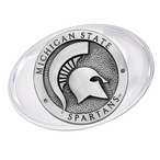 Michigan State University Spartans Pewter Accent Paperweight