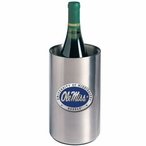 Mississippi Rebels Blue Pewter Stainless Steel Wine Bottle Chiller