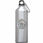 Mississippi State Bulldogs Logo Pewter Stainless Steel Water Bottle