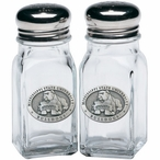 Mississippi State Bulldogs Pewter Accent Salt & Pepper Shakers