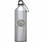 Mississippi State Bulldogs Pewter Accent Stainless Steel Water Bottle