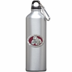 Mississippi State Bulldogs Red Pewter Stainless Steel Water Bottle